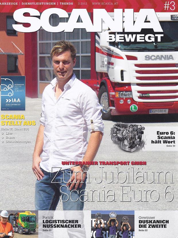 Unterrainer Transporte Ebbs Tirol Österreich Transport Milchsammeltransport, Planenzug, Lebensmitteltransport, Getränketransport, Scania, Markus Unterrainer